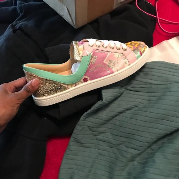 cacefa75edf5 Christian Louboutin Flamingirl sneakers